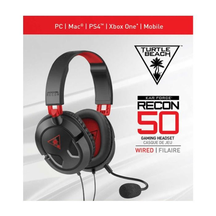 Headset Turtle Beach Recon 50p Xbox One Ps4 Pc