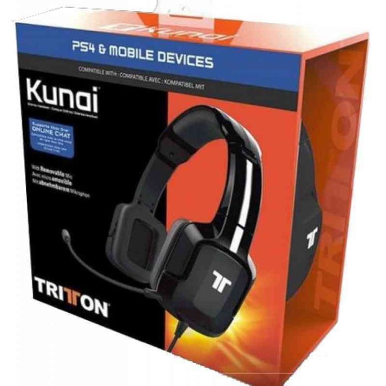 Headset Universal Tritton Estéreo Kunai - PS4/ Xbox One/PS Vita/Mobile