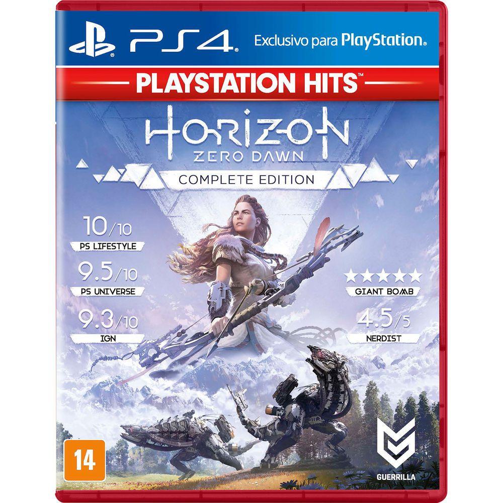 Horizon Zero Dawn Complete Edition Hits - PS4 (Semi-Novo)