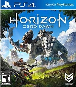 Horizon Zero Dawn Ps4 no encarte