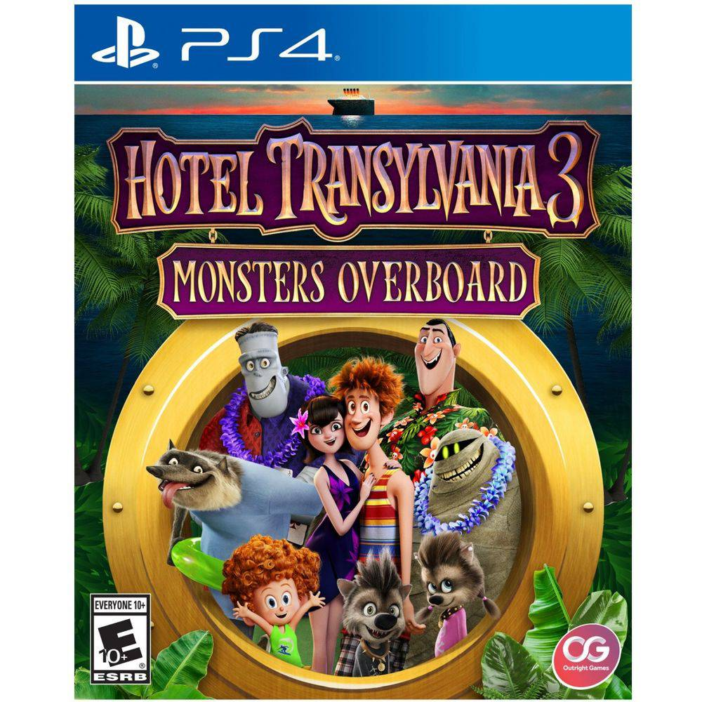 Hotel Transylvania 3 Monsters Overboard - Ps4
