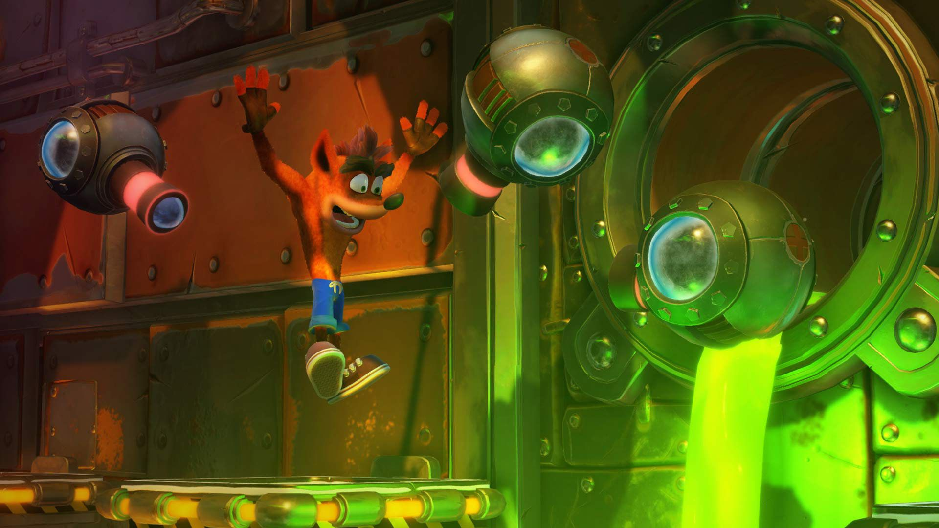 Jogo Crash Bandicoot N'sane Trilogy - PS4