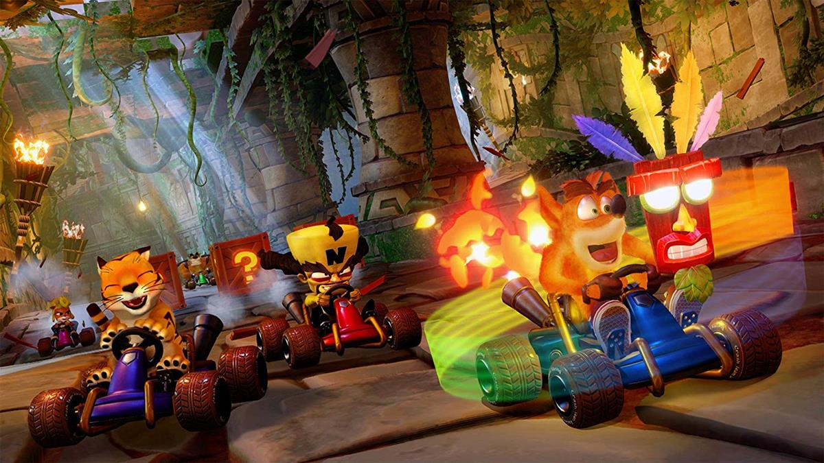 Jogo Crash Team Racing Nitro Fueled - PS4