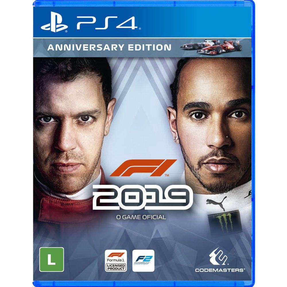 Jogo F1 2019 (Anniversary Edition) - PS4