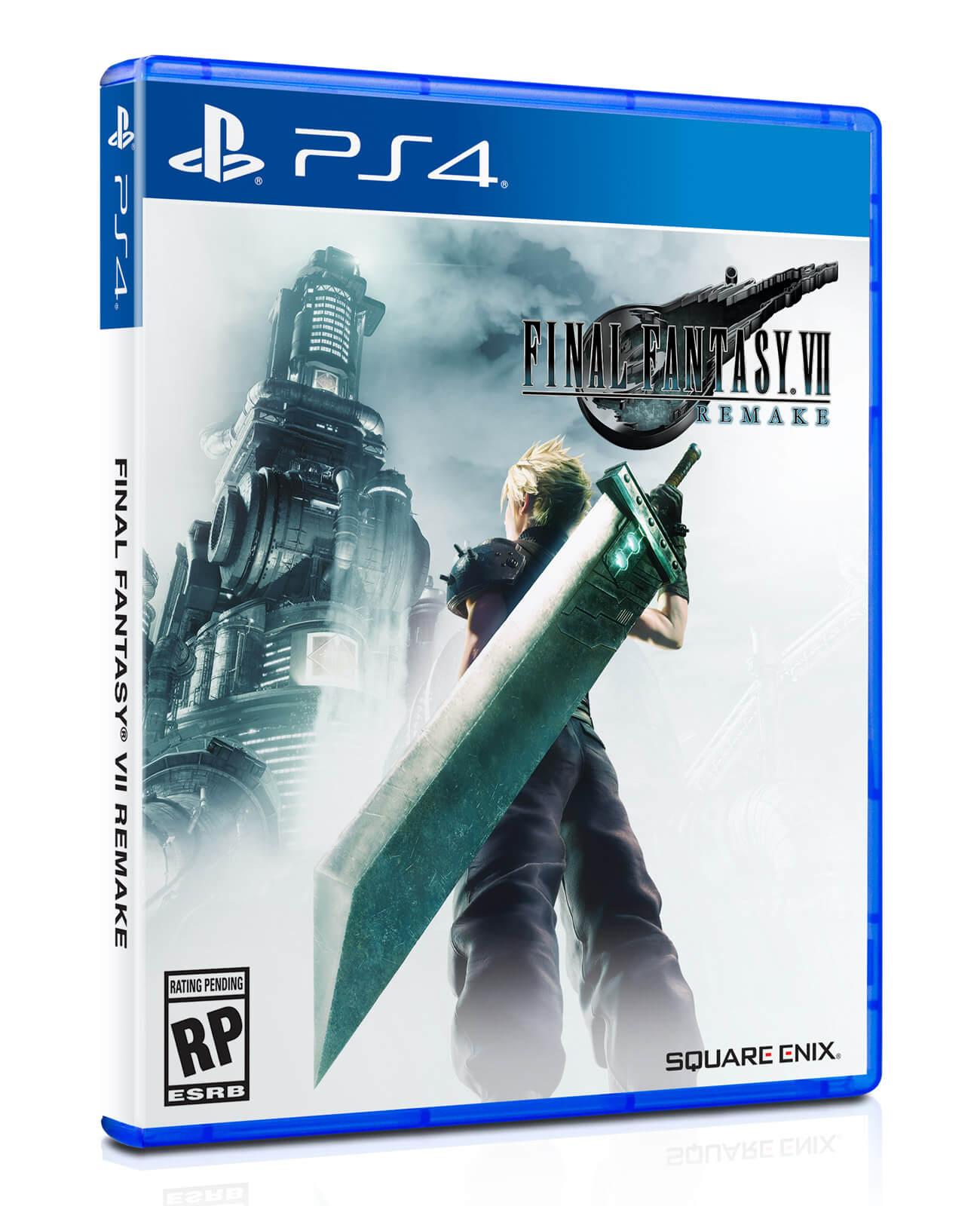 Jogo Final Fantasy VII Remake (Pré-venda) - PS4