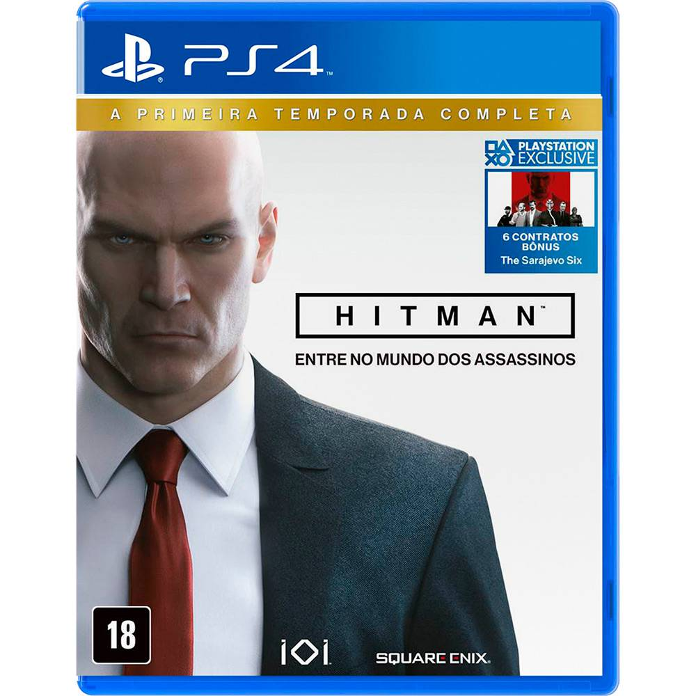 Jogo Hitman: The Complete First Season - PS4