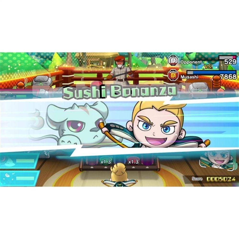 Jogo Sushi Striker Way Of The Sushido Nintendo Switch