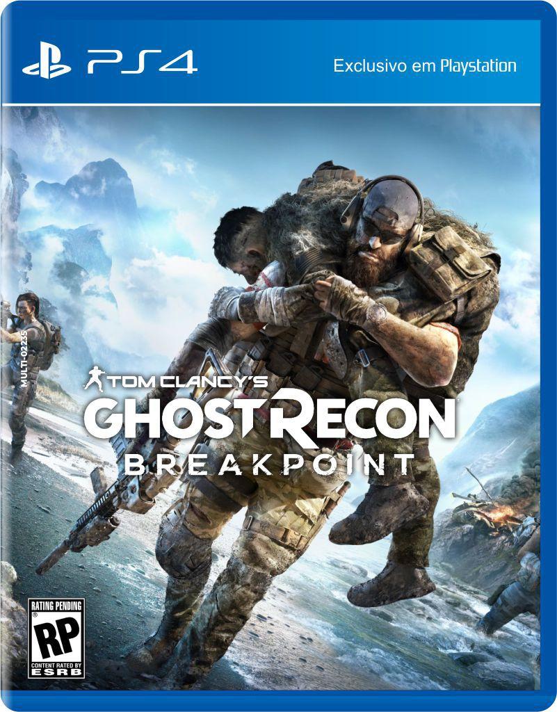 Jogo Tom Clancys Ghost Recon: Breakpoint (Pré-Venda) - PS4