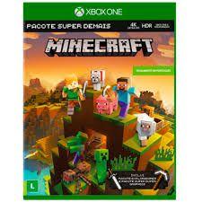 Jogo Xbox One Minecraft Pacote Super Demais