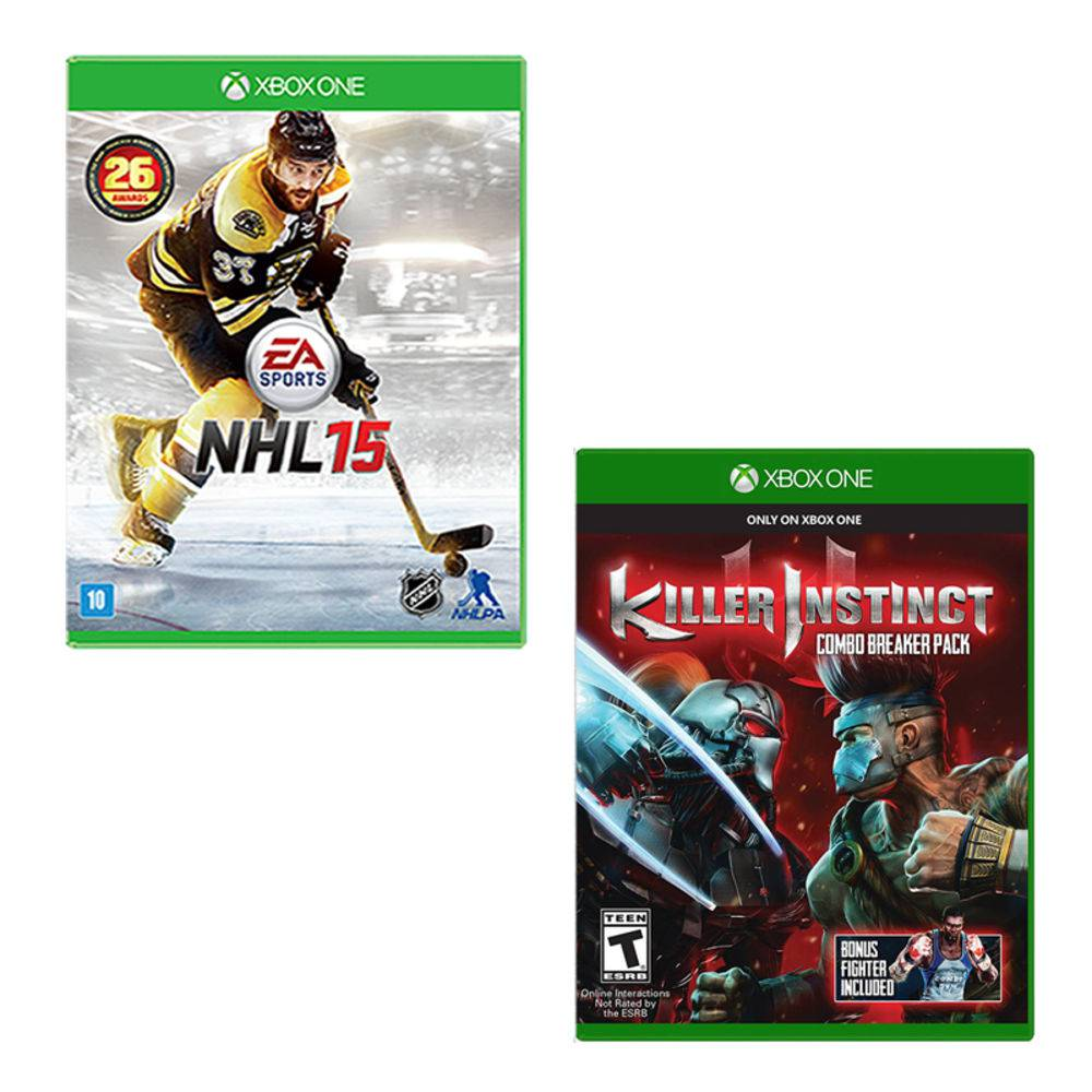 Killer Instinct+Nhl 15 Xbox One