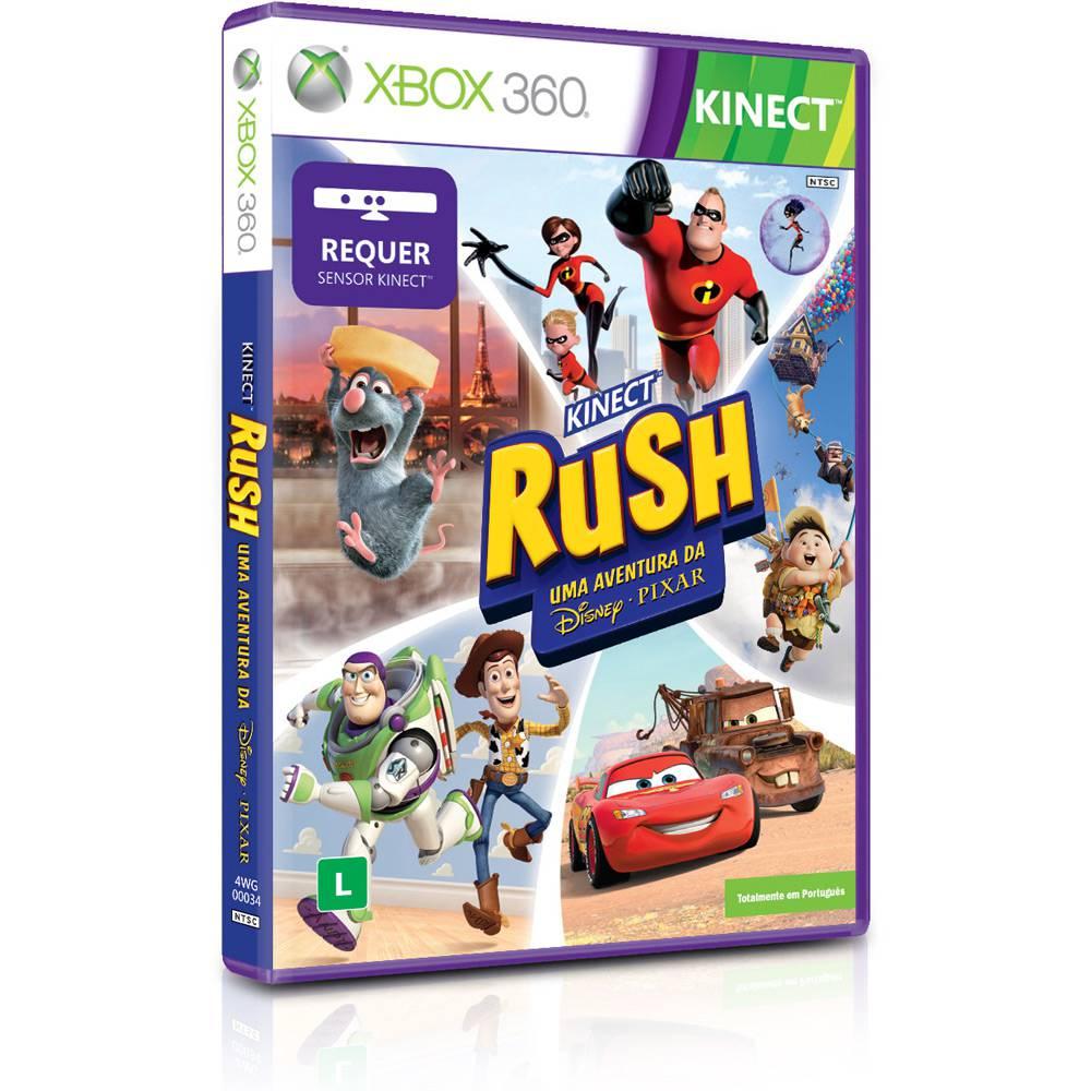 Kinect Rush Uma Aventura Da Disney - Pixar - Xbox 360
