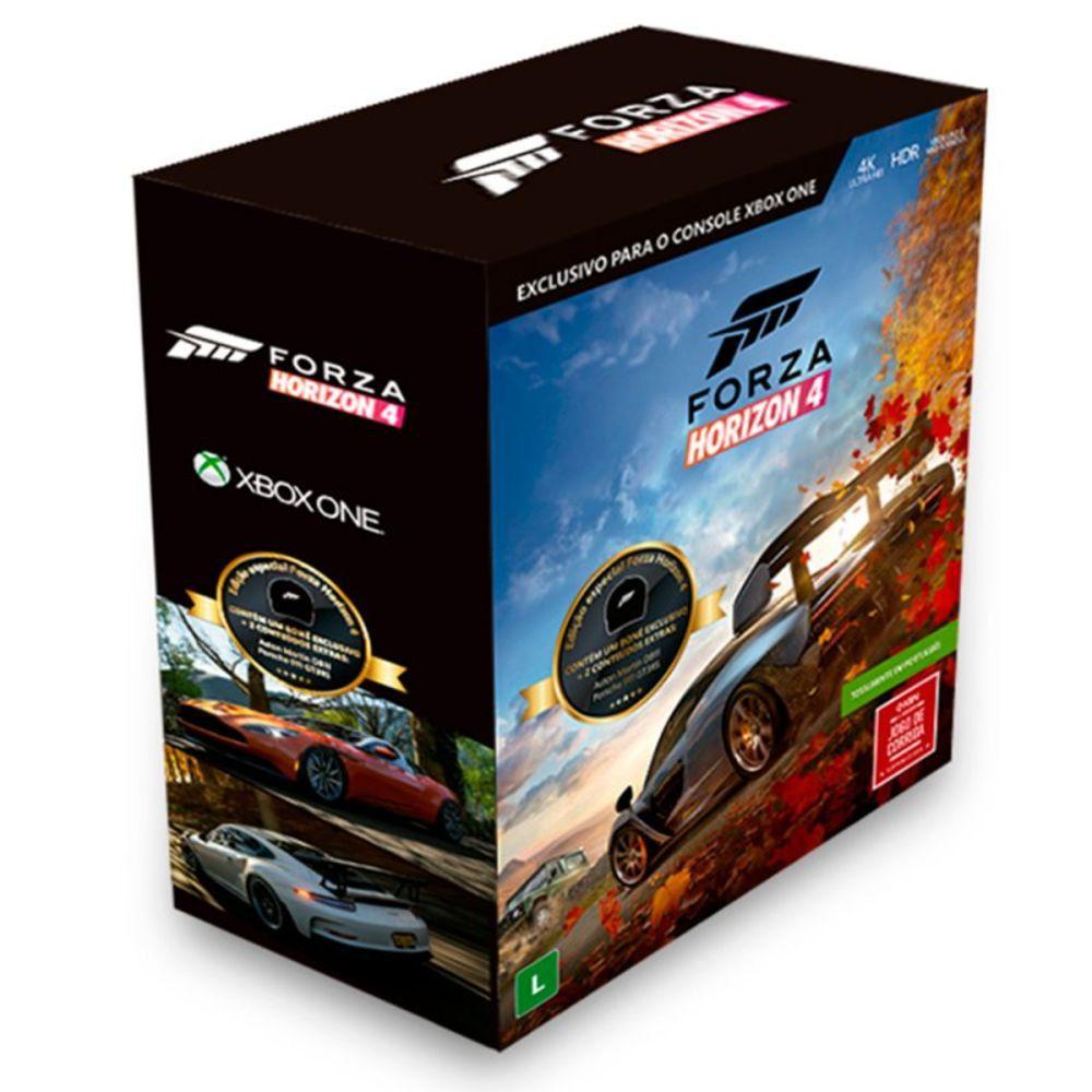 Kit com 1 Jogo Xbox One  Forza Horizon 4 e 1 Boné Exclusivo