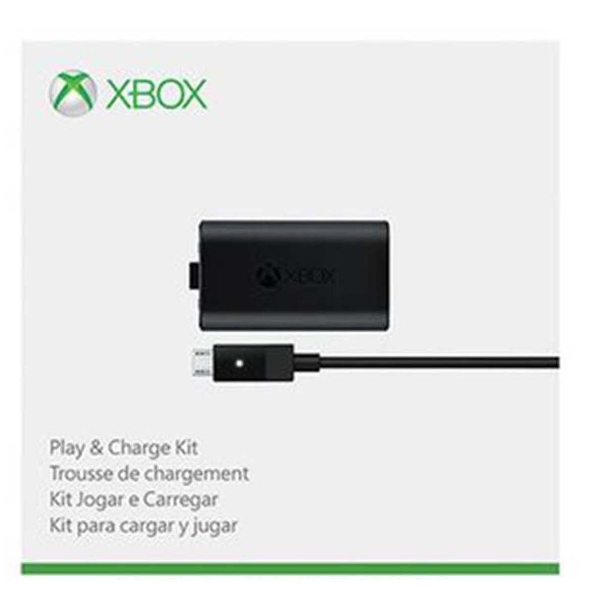 Kit Play And Charge Bateria Controle Xbox One Microsoft