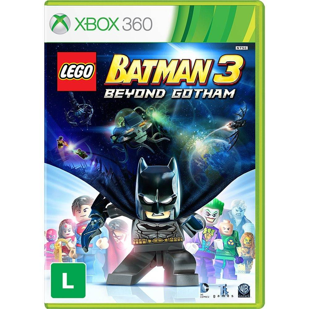 Lego Batman 3: Beyond Gotham - Xbox 360 (Semi-Novo)