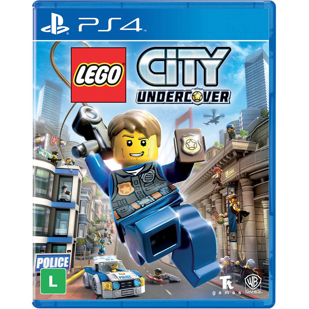 Lego City Undercover - PS4 (Semi Novo)