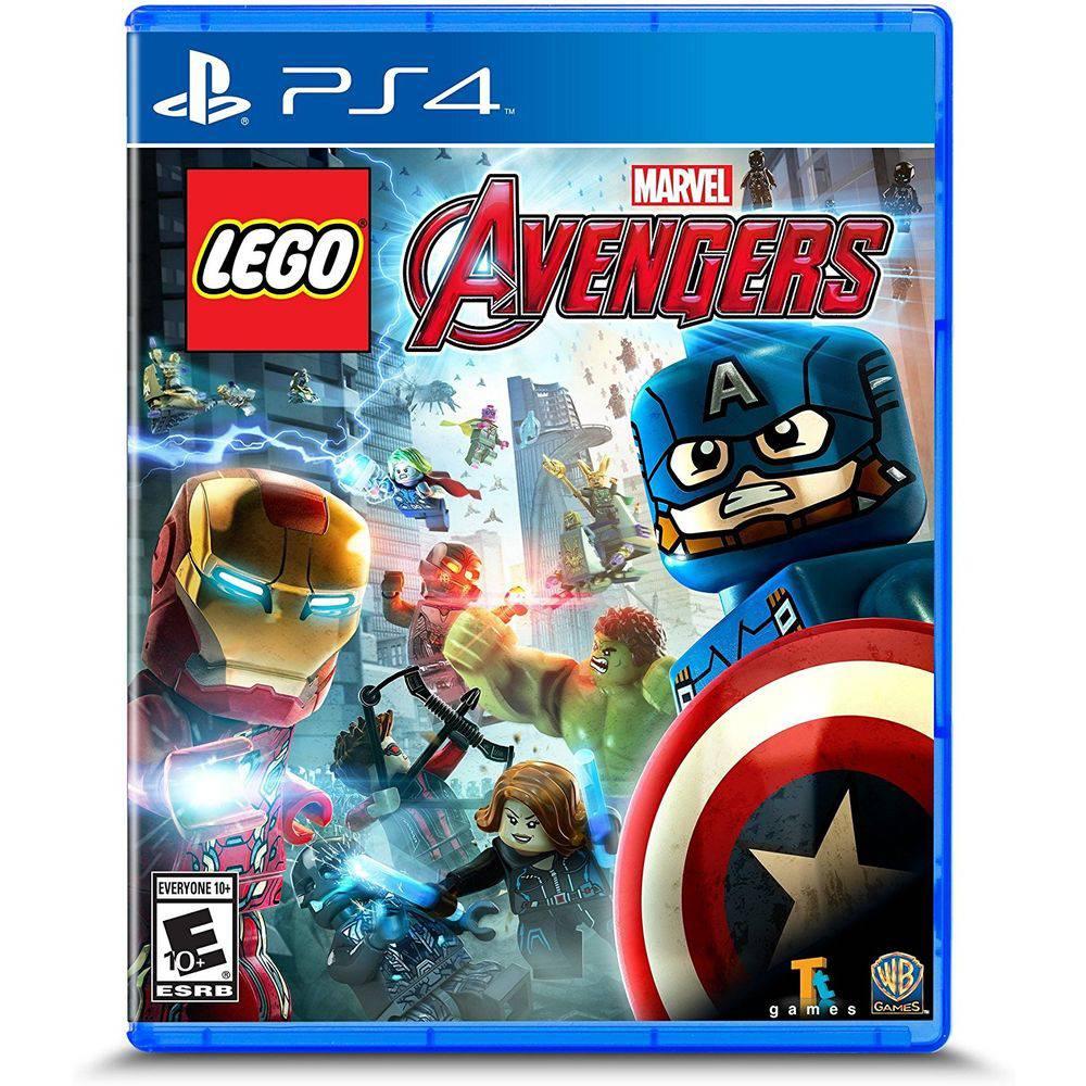 Lego Marvel Avengers Vingadores Ps4