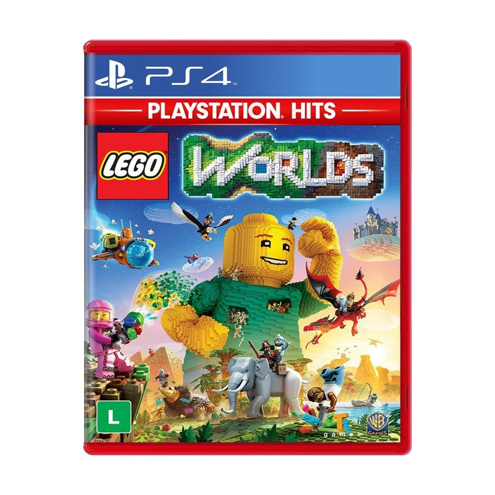 Lego Worlds - Ps4 (Semi-novo)
