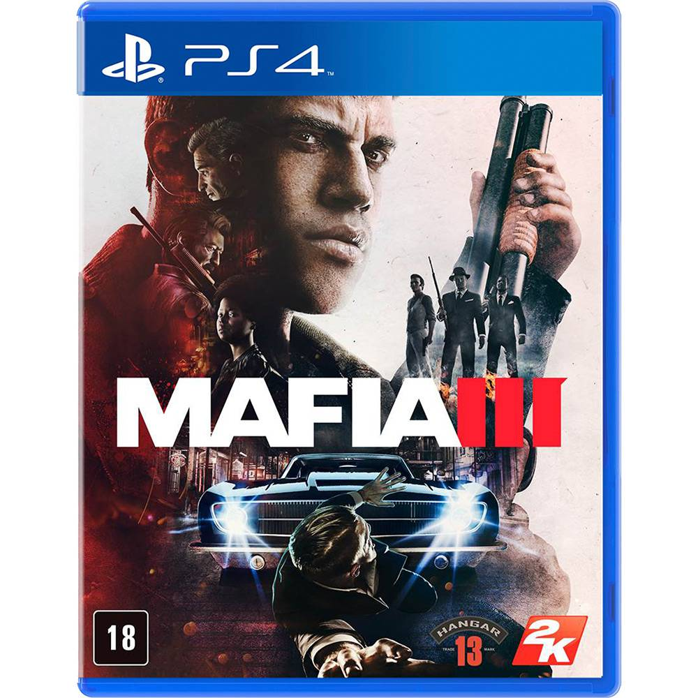 Mafia 3 Ps4 Playstation 4
