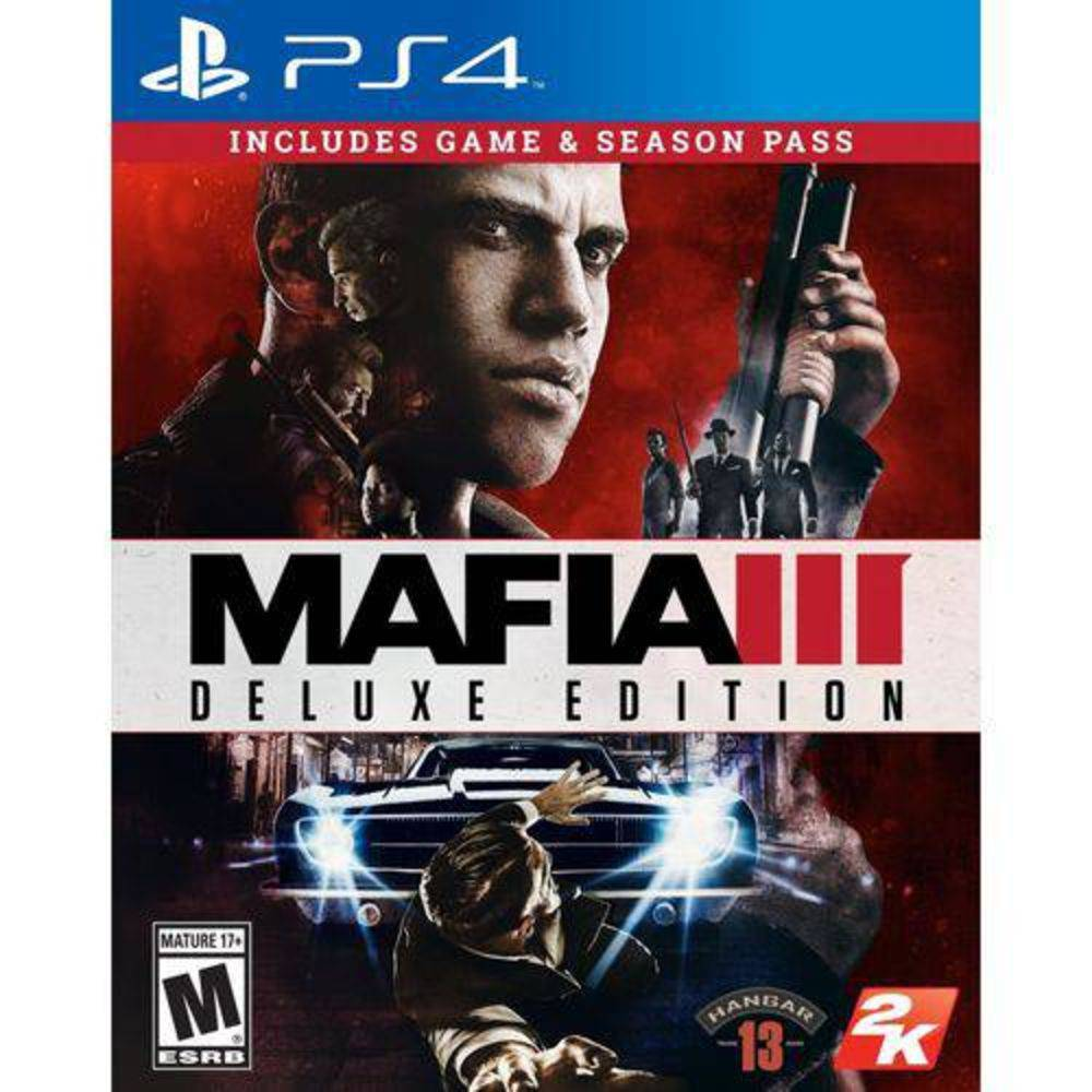 Mafia 3 Deluxe Edition - Ps4
