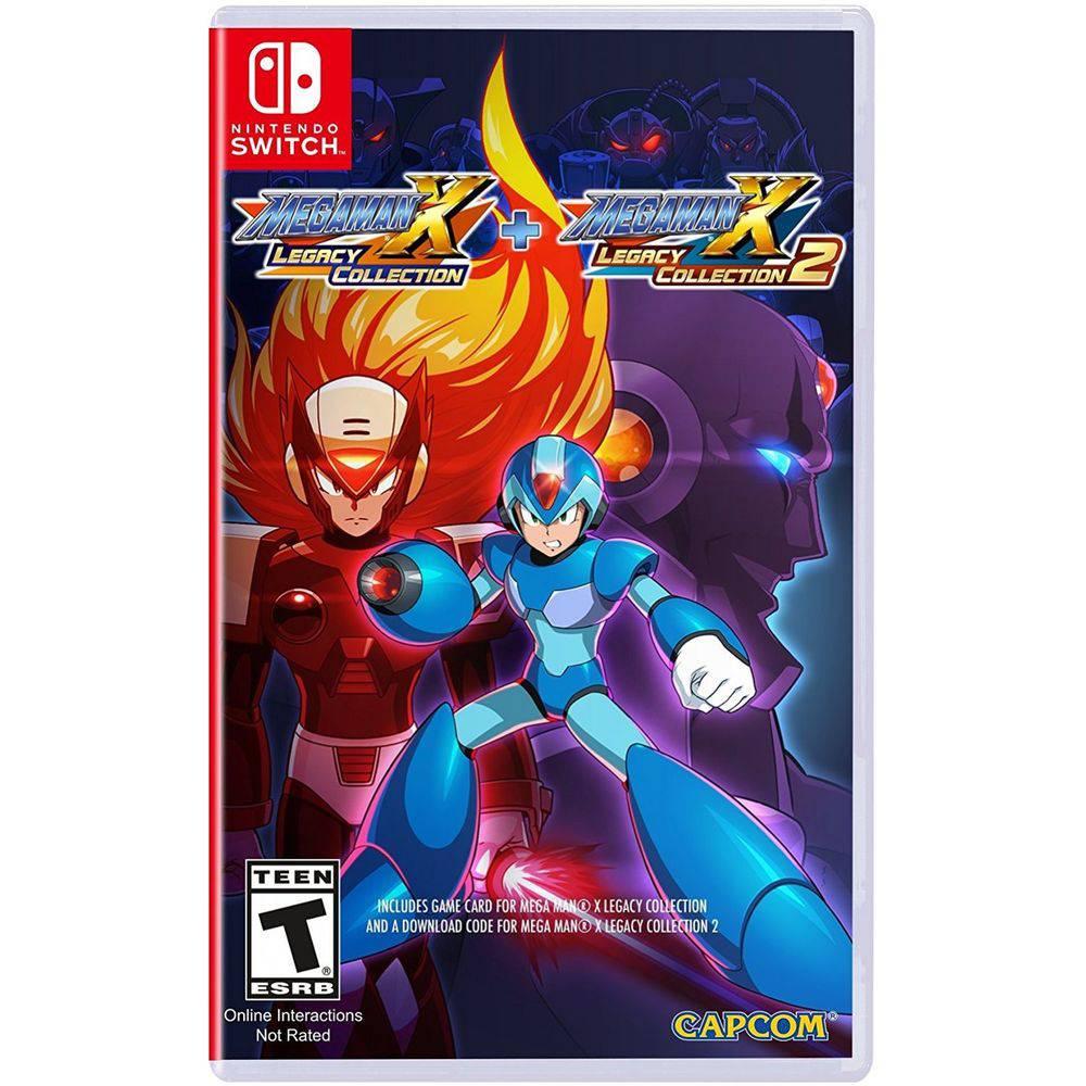 eabd2ebf9 Comprar Mega Man X Legacy Collection 1 + 2 - Switch NINTENDO SWITCH ...