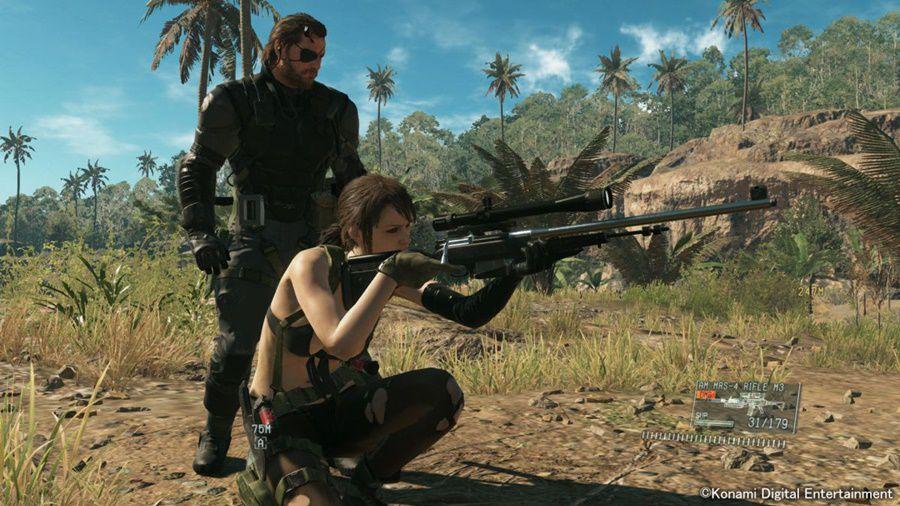 Metal Gear Solid V The Phantom Pain PS4