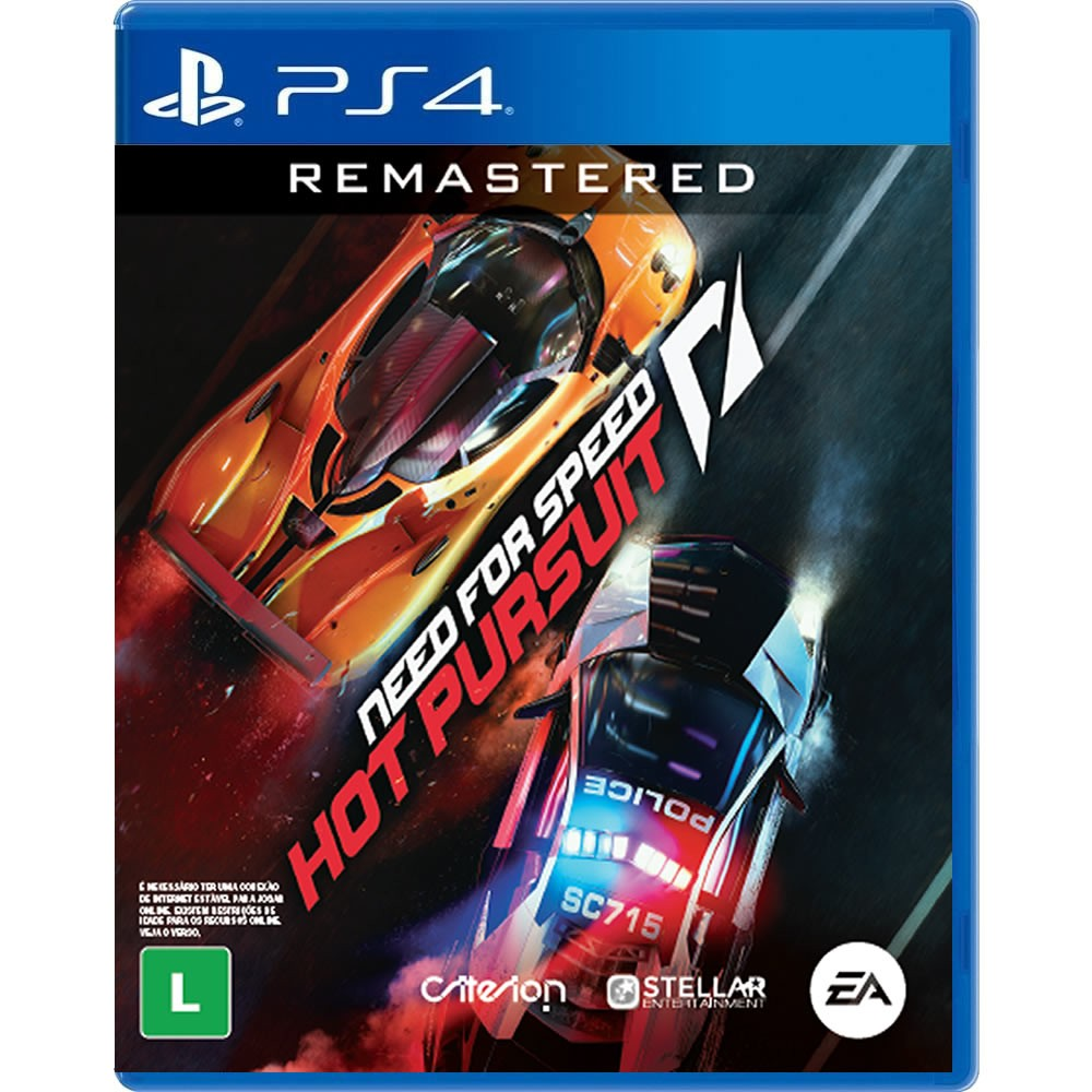 Need for Speed Hot Pursuit Remastered BR (Pré-venda) PS4