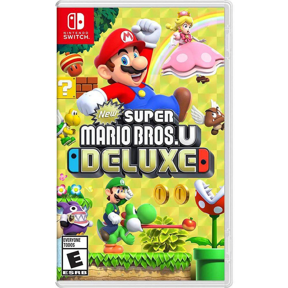 6856f9c07 Comprar New Super Mario Bros U Deluxe Novo - Switch NINTENDO SWITCH ...