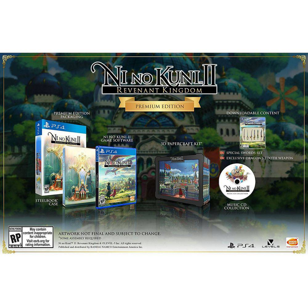 Ni No Kuni Ii Revenant Kingdom Premium Edition - Ps4