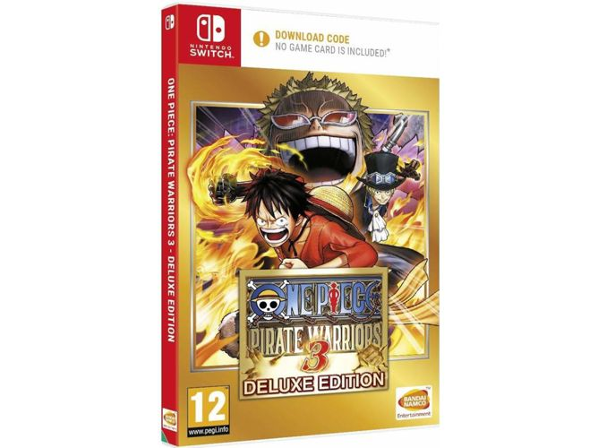 One Piece Pirate Warriors 3 Deluxe Edition (Sem cartucho) - Nintendo Switch