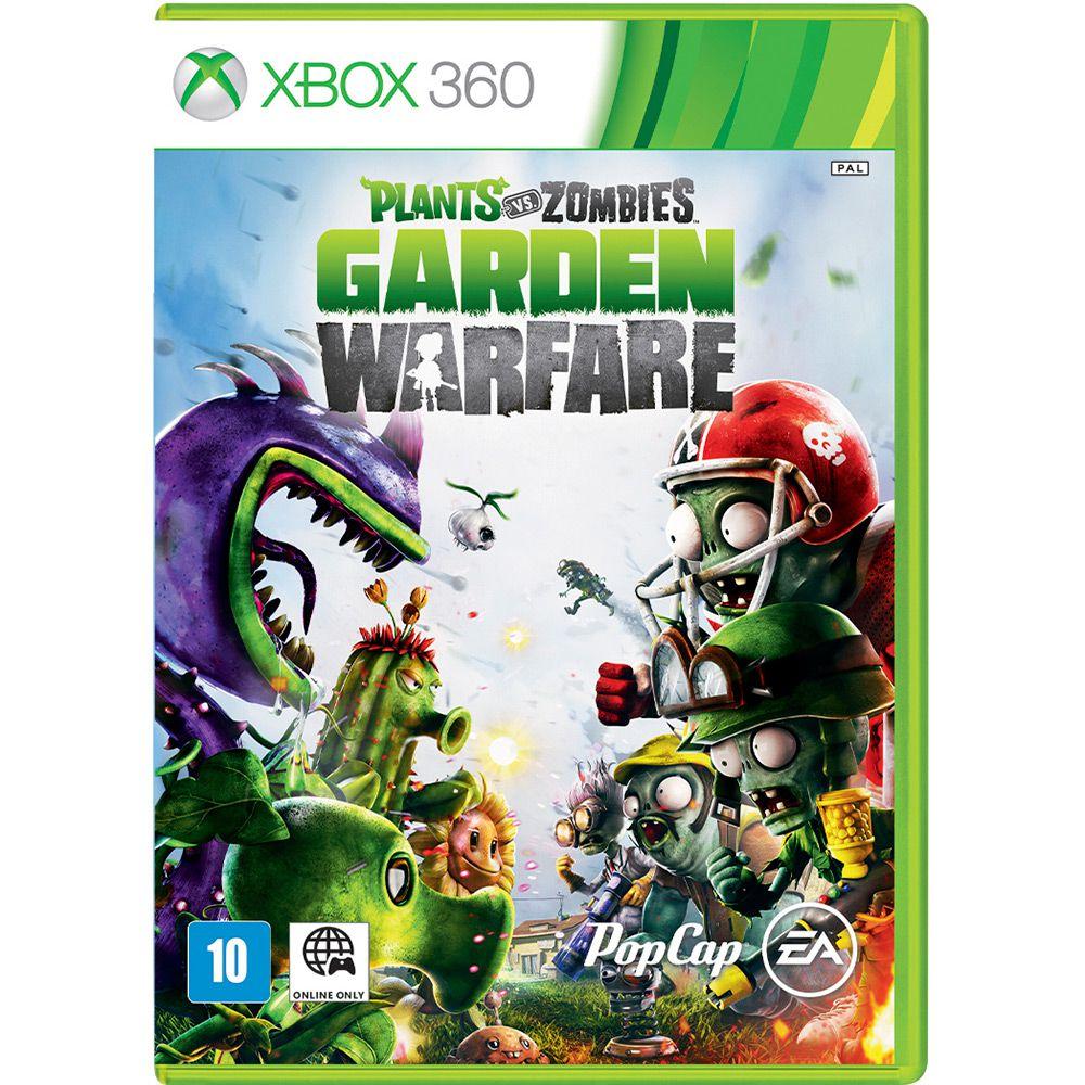 Plants Vs Zombies: Garden Warfare - XBOX 360 (Semi-Novo)