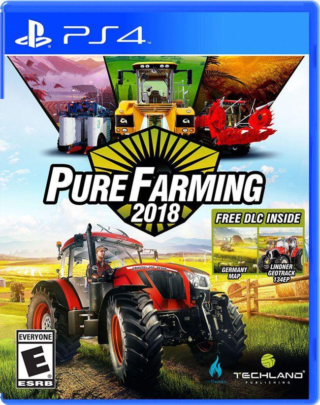 Pure Farming 2018 - Ps4 (Semi-Novo)