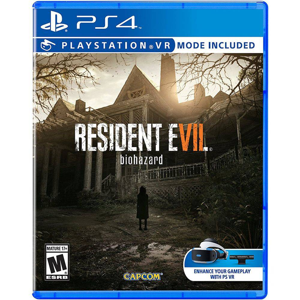 Resident Evil 7 Ps4 com Modo Vr.