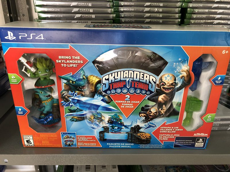 Skylanders Trap Team Starter Pack Kit Inicial - Ps4 (SemiNovo)