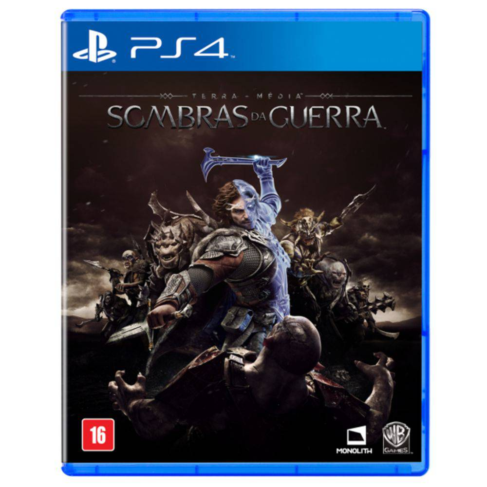 Sombras da Guerra PS4 Em Português