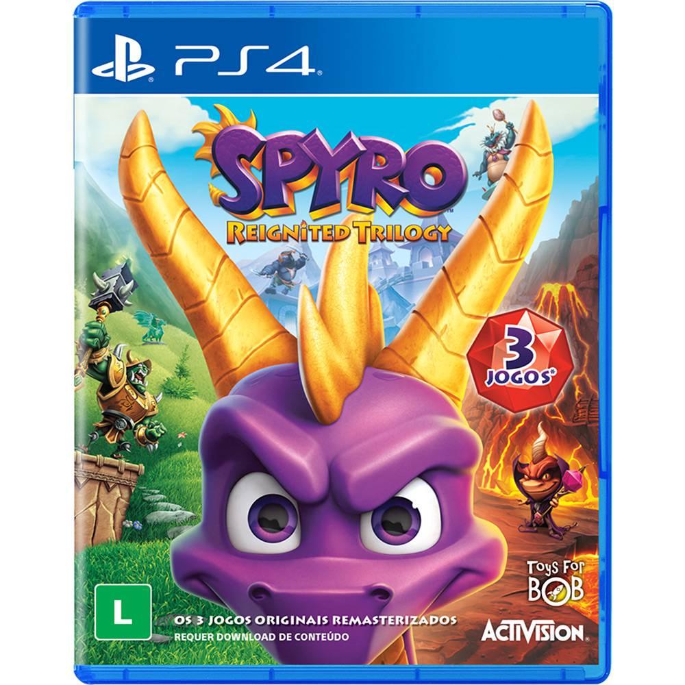 Comprar Spyro Reignited Trilogy - PS4 PS4 Loja Multigames - Produtos ... 229d429a4c9