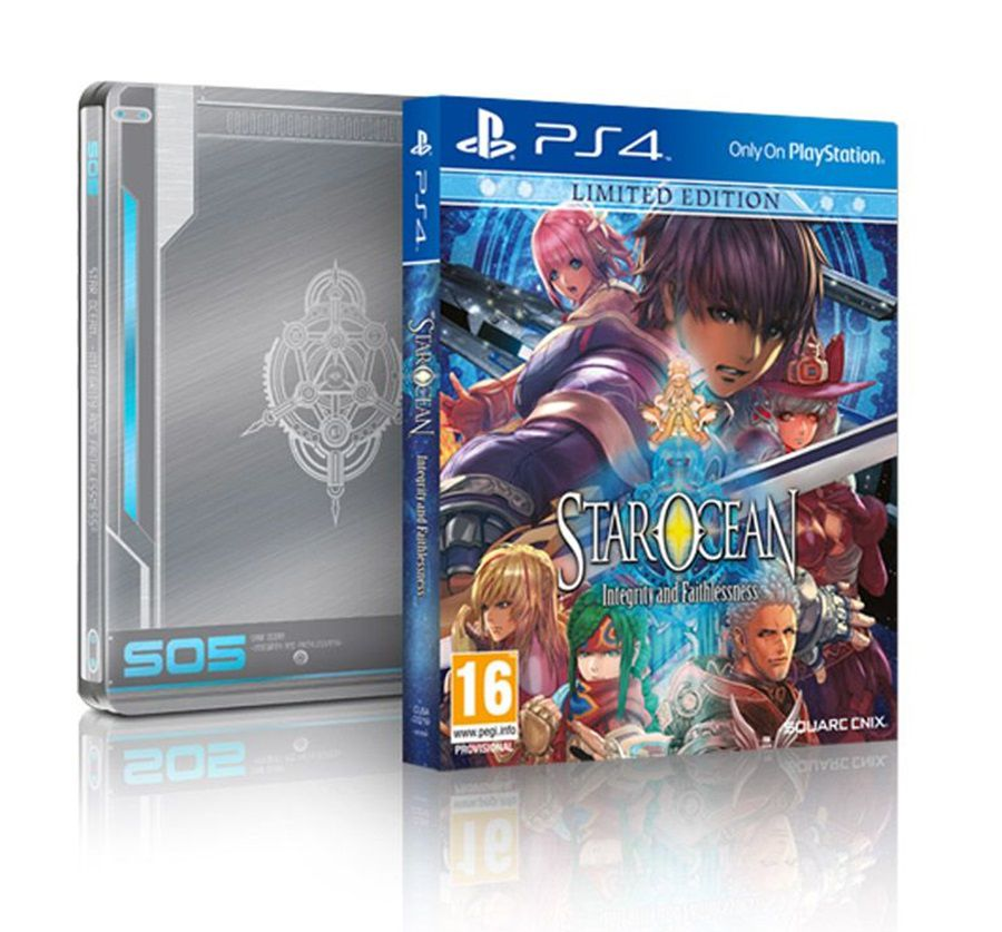 Star Ocean Integrity And Faithlessness - Limited Edition Steelbook - Ps4