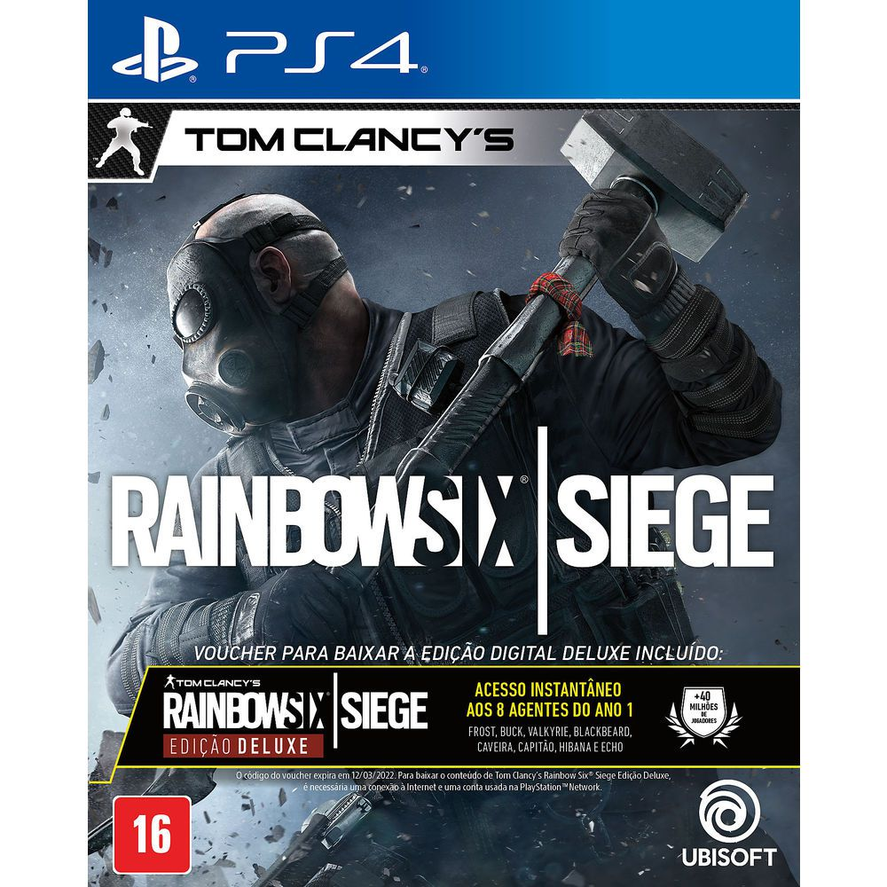 Tom Clancys Rainbow Six Siege Edição Deluxe - Ps4