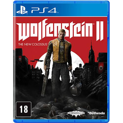 Wolfenstein II The New Colossus - PS4