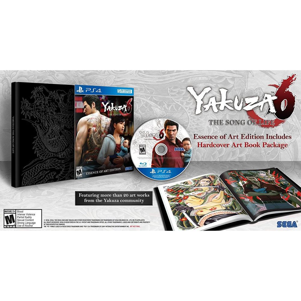 Yakuza 6: The Song Of Life Essence Of Art Edition - Ps4