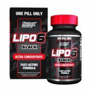 Lipo 6 Black Ultra Concentrado (60 Cápsulas) - Nutrex Research