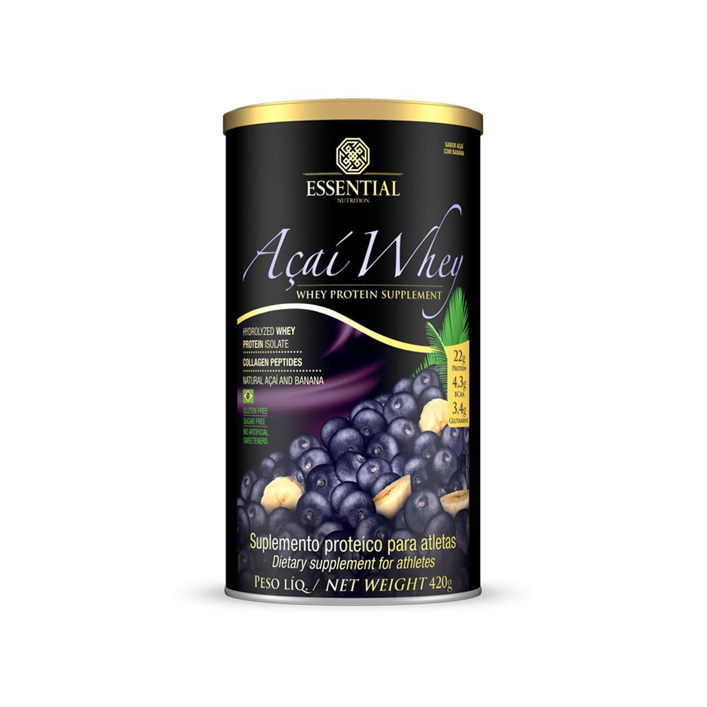Açaí Whey (420g) – Essential Nutrition