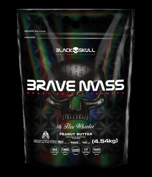 Brave Mass Refil (4.54Kg) - Black Skull