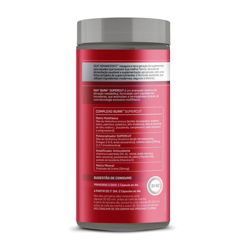 Burn Supercut (60 cápsulas) - Dux Nutrition