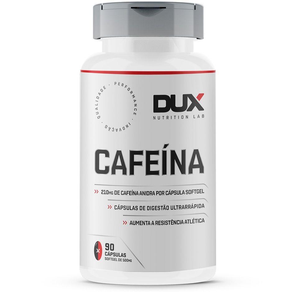 Cafeína (90 Cápsulas) - Dux Nutrition