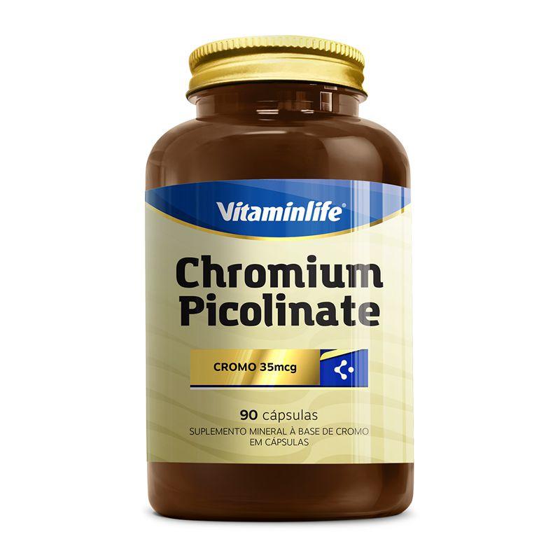 Chromium Picolinate (90 Cápsulas) - Vitaminlife