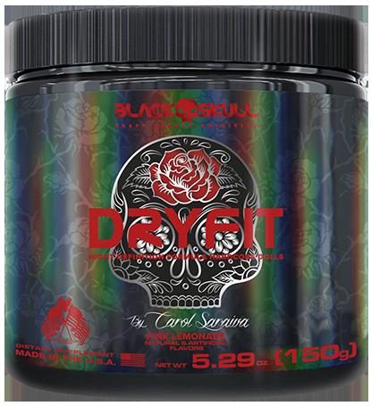 Dry Fit (150g) - Black Skull