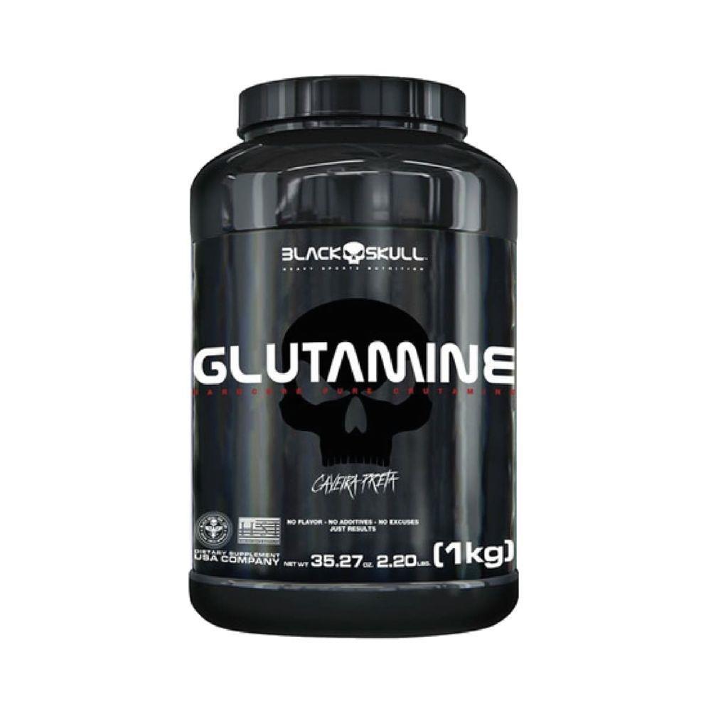 Glutamine (1kg) - Black Skull