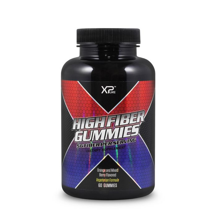 Hight Fiber Gummies (60 gummies) X-Pure
