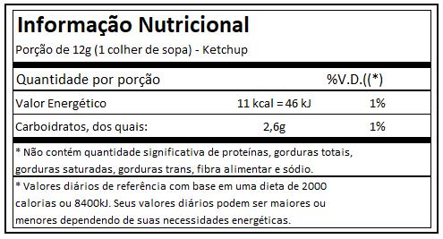 Ketchup Zero (120g) - Power One