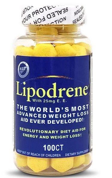 Lipodrene (100 Tabletes) - hi Tech Pharmaceuticals